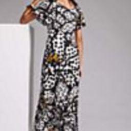 Farm Rio Flutter-Sleeved Maxi Dress | Anthropologie (US)