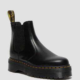 DR MARTENS 2976 Polished Smooth Platform Chelsea Boots | Dr Martens (FR)