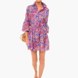 Berry Paisley Zamata Dress | Tuckernuck (US)