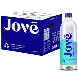 Jove Alkaline pH Water, Skin & Cellular Hydration, pH 9.5+, Smooth & Easy Drinking, 1 Liter (Pack...   Amazon (US)
