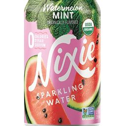 Nixie Sparkling Water, Watermelon Mint   12 fl oz cans, 24 pack   Organic, Non-GMO, 0 Calories, 0...   Amazon (US)