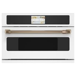 Cafe 30 in. 1.7 cu. ft. Smart Electric Wall Oven and Microwave Combo with 240 Volt Advantium Tech... | The Home Depot