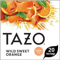 Tazo Tea Bags Wild Sweet Orange 20 Tea Bags   Walmart (US)