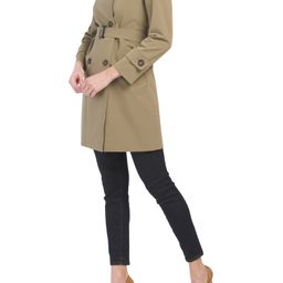 Made In Italy Double Breasted Belted Coat   Women   Marshalls   Marshalls