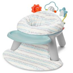 Skip Hop Baby Seat Silver Lining Cloud 2-in-1 Sit-up Chair & Activity Floor Seat - Gray | Target