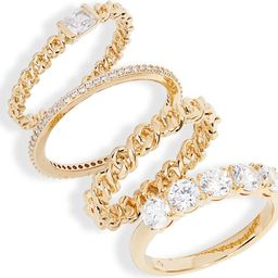Zoe Set of 4 Stacking Rings | Nordstrom