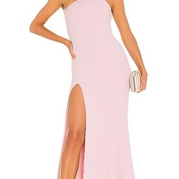 Evan Gown in Rose Pink | Revolve Clothing (Global)