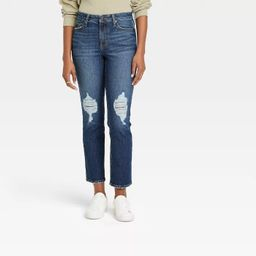 Women's High-Rise Straight Cropped Jeans - Universal Thread™   Target