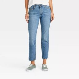 Women's High-Rise Straight Cropped Jeans - Universal Thread™ | Target