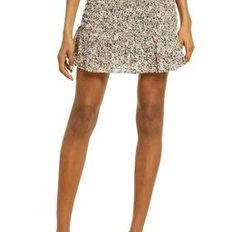 Hollo Smocked Miniskirt | Nordstrom