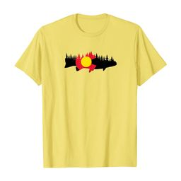 Colorado Fishing Graphic Design T-Shirt | Amazon (US)