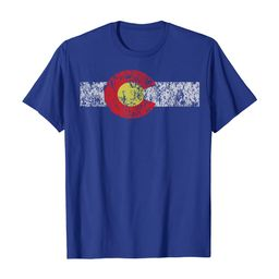Distressed Colorado State Flag TShirt Denver Co Patriotic | Amazon (US)