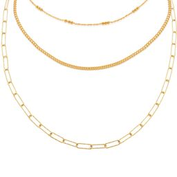 Chain Necklace Set | Monica Vinader (US)
