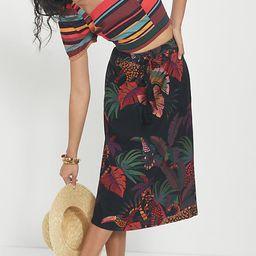Farm Rio Guadalupe Midi Skirt By Farm Rio in Assorted Size XL | Anthropologie (US)
