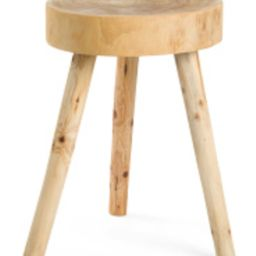 24in Wooden Accent Table   TJ Maxx