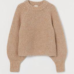Knit Alpaca-blend Sweater | H&M (US)