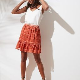 Fit-and-Flare Mini Skirt | Banana Republic Factory