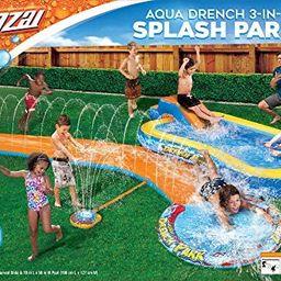 BANZAI Aqua Drench 3-in-1 Splash Park, Multi | Amazon (US)
