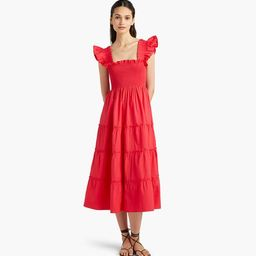 The Ellie Nap Dress - Raspberry Red | Hill House Home