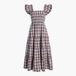 The Ellie Nap Dress - Multi Tartan | Hill House Home