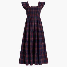 The Ellie Nap Dress - Iris Tartan | Hill House Home