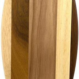Totally Bamboo Rock & Branch Series Shiplap Lil Surfer Shaped Wood Serving and Cutting Board | Gr... | Amazon (US)