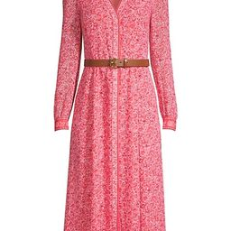 Harrison Floral Print Midi Dress | Saks Fifth Avenue
