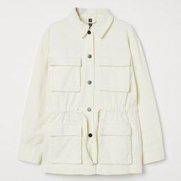 Cotton Twill Utility Jacket   H&M (US)