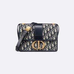 30 Montaigne Bag Blue Dior Oblique Jacquard - Bags - Women's Fashion   DIOR   Christian Dior (US)