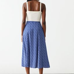 Printed Maxi Skirt   & Other Stories