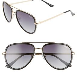 All In 52mm Mini Aviator Sunglasses | Nordstrom