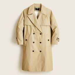 Relaxed trench coat in cotton-canvas | J.Crew US