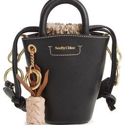 Mini Leather Bucket Bag   Nordstrom