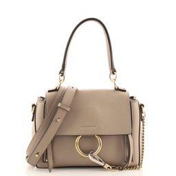 Faye Day Bag Leather Mini   Rebag