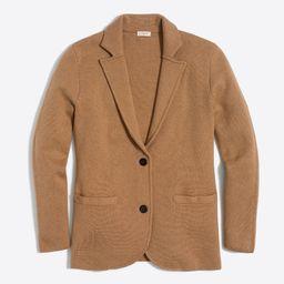 Sweater-blazer   J.Crew Factory