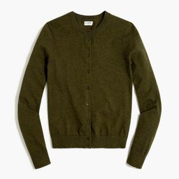 Classic cotton cardigan sweater   J.Crew Factory