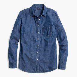 Denim shirt in signature fit   J.Crew Factory