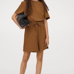 Pima Cotton Shorts | H&M (US)