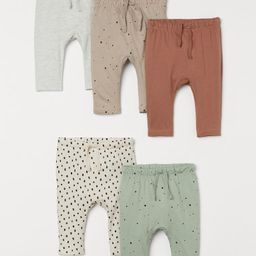 5-pack Cotton Pants   H&M (US)