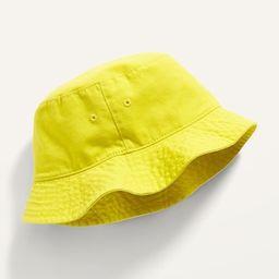 Gender-Neutral Solid Bucket Hat for Kids   Old Navy (US)