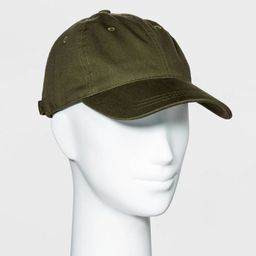 Women's Baseball Hat - Universal Thread™ Olive Green | Target