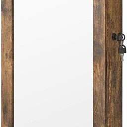 SONGMICS Lockable Jewelry Cabinet Armoire with Mirror, Wall-Mounted Space Saving Jewelry Storage ...   Amazon (US)