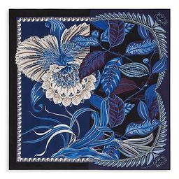 Giada Split Graphic Floral Silk Scarf | Saks Fifth Avenue
