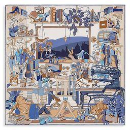 Studio Printed Silk Scarf | Saks Fifth Avenue