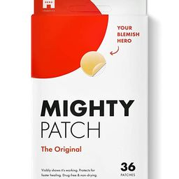 Mighty Patch Original from Hero Cosmetics - Hydrocolloid Acne Pimple Patch for Zits and Blemishes... | Amazon (US)