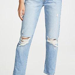 Cai Classic Straight Jeans | Shopbop