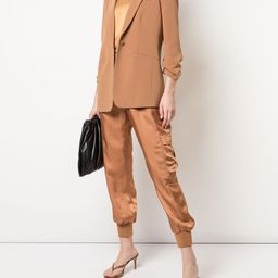 Khloe crepe blazer | Farfetch (US)