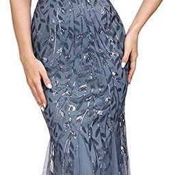 Ever-Pretty Women's Double V-Neck Sleeveless Mermaid Dress Evening Maxi Dress 7886   Amazon (US)