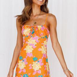 Fresh Lemonade Dress Orange | Hello Molly