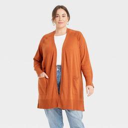 Women's Plus Size Cardigan - Ava & Viv™   Target